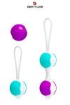 Boules de Geisha Orgasmic Balls - Améliorez la qualité et l'intensité de vos orgasmes avec le kit de boules de geisha interchangeables Orgasmic Ball.