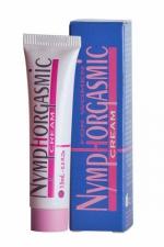 Crème stimulante Nymphorgasmic : Crème stimulante pour femme spécialement conçue pour stimuler le clitoris et accroitre l'intensité de l'orgasme.
