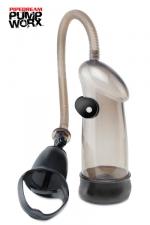 Pompe Vibrating Sure Grip - Pipedream - Une pompe à utiliser d'une seule main avec fonction vibromasseur pour des sensations explosives!