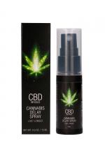 Spray retardant CBD Cannabis 15ml : Le spray à base de CBD parfait pour prolonger l'érection et lutter contre l'éjaculation précoce