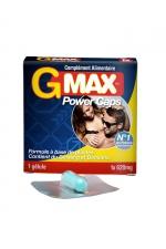 G-Max Power Caps Homme (1 gélule) : Une érection plus vigoureuse qui dure plus longtemps? G-MAX est le complément alimentaire aphrodisiaque pour hommes n1 en France.