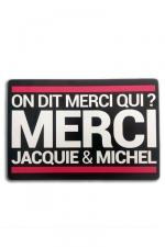 Tapis de souris Jacquie et Michel - A la demande générale des Jacquie et Michel Addicts, voici le tapis de souris! On dit merci qui?