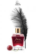 Peinture de corps Poême cerise - Flacon de peinture corporelle comestible au parfum délicieux de cerise, par Bijoux Indiscrets.