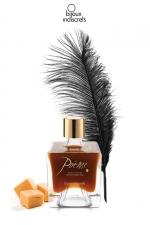 Peinture de corps Poême caramel - Flacon de peinture corporelle comestible au parfum délicieux de caramel, par Bijoux Indiscrets.