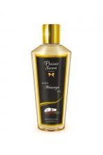Huile sèche noix de coco - Huile de massage sèche au délicieux parfum de noix de coco pour des massages aussi relaxants que bons pour le corps.